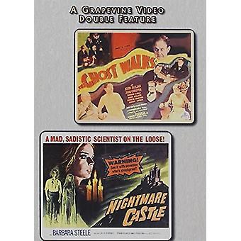 Château fantôme promenades (1934) / cauchemar (1964) importer des USA [DVD]