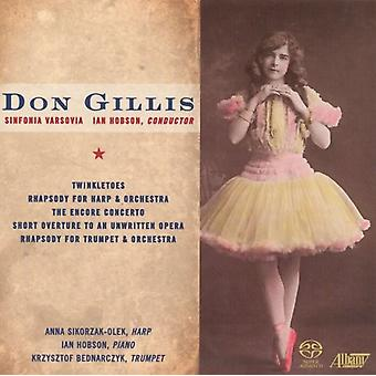 Don Gillis - Don Gillis: Twinkletoes; Rhapsody; Encore Concerto; Short Overture to an Unwritten Opera [SACD] USA import