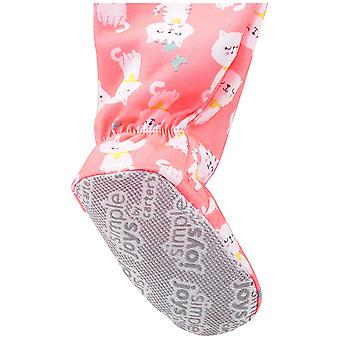 Simple Joys by Carter's Baby Girls' 3-Pack Loose Fit Flame Resistant Polyeste...