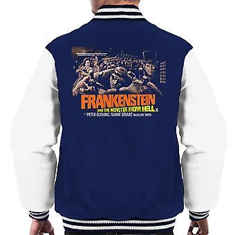 ハンマーホラー映画フランケンシュタインモンスターから地獄グラブメン&アポ;sバーシティジャケット
