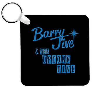Barry Jive And The Uptown Five High Fidelity Keyring