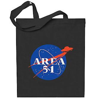 Alue 51 Parodia NASA Totebag