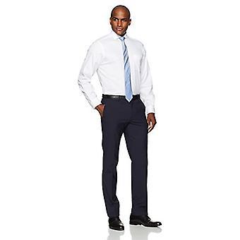 KNAPPET NED menn's Klassisk Passform Cutaway-Krage Non-Iron Dress skjorte (Pocket),...