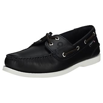 Chatham Classic Ii G2 Mens Boat Shoes in Navy