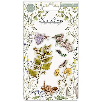 Craft Consortium Clear Stamps - Wildflower Meadow - Wild Flowers