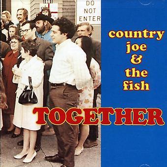 Country Joe & le poisson - ensemble [CD] USA import