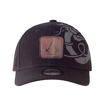 Assassins Creed Valhalla Baseball Cap Tribal Logo new Official Black Strapback