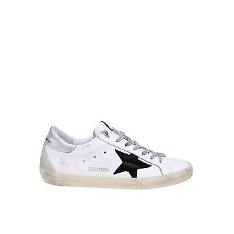 Golden Goose Gmf00102f00062510347 Men's White Leather Sneakers