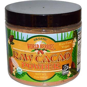 FunFresh Foods, Organic, Raw Cacao Powder, 5 oz (140 g)