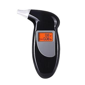 Dych alkohol tester Vlastné digitálny analyzátor detektor breathalyser LCD obrazovky alkohol testovanie nástroj