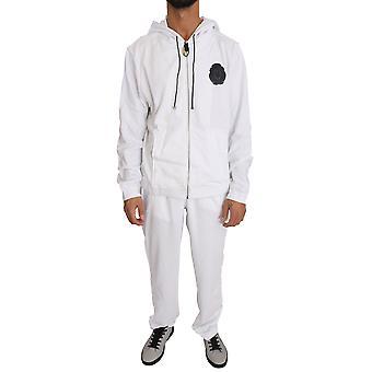 White Cotton Sweater Pants  Tracksuit BIL1039-1