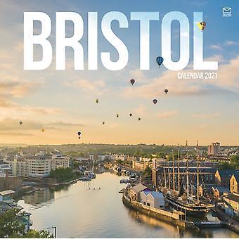 Bristol Square Wall Calendar 2021