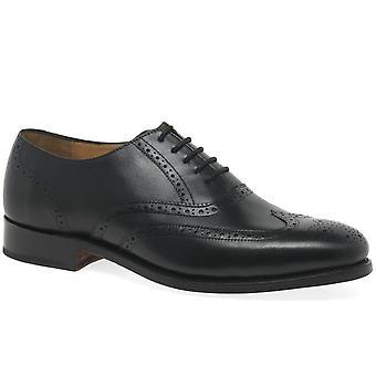 Barker Glasgow Formal Mens Oxford Brogue Shoes