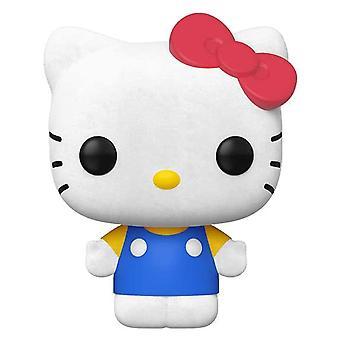 Hello Kitty Flocked US Exclusive Pop! Vinyle