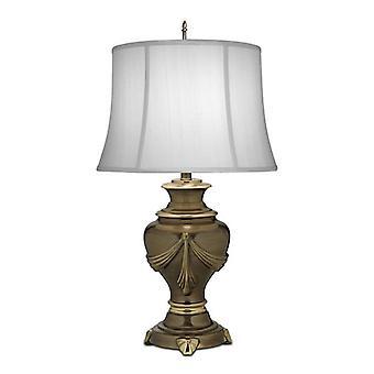 Elstead - 1 Lampe de table légère Bronze, E27