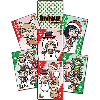 Playing Cards - Haikyu!! - Christmas Sd Group New Licensed ge51690