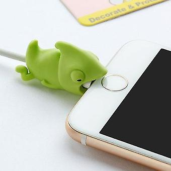 Animal Cute Cartoon Design-usb Cable Protector, Wire Organizer Holder