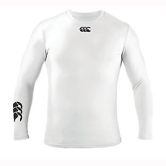 Cold Long Sleeve Kids Baselayer - White