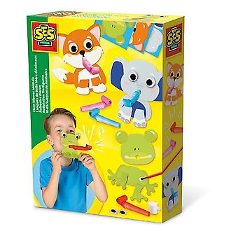 SES Creative Children's Horn Blower Animals (14018)