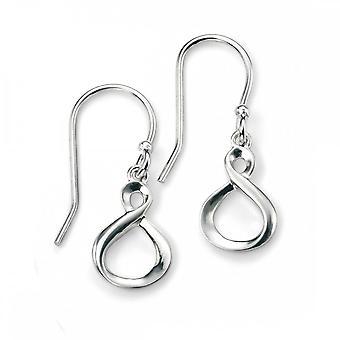 Beginnings Elements Sterling Silver Infinity Loop Earrings E4897