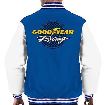 Goodyear Racing Logo Men's Varsity Jacket