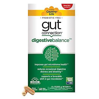 Country Life Gut Connection Digestive Balance, 60 Caps