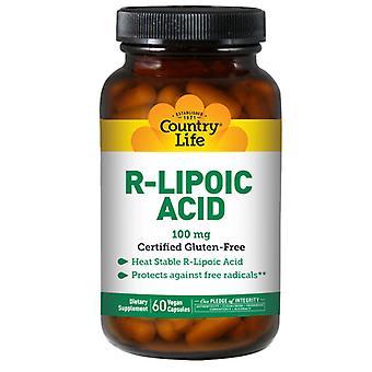 Country Life R-Lipoic Acid, 60 Caps