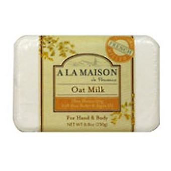 A La Maison Bar Soap, Oat Milk 8.8 oz