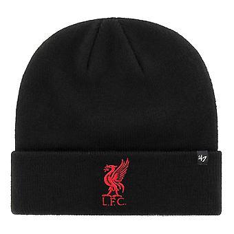 47 Brand CUFF Knit Beanie Winter Hat - LIVERPOOL BLACK