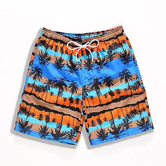 Printed, Quick Dry Summer Swimming Shorts