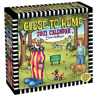 Close to Home 2021 DaytoDay Calendar by John McPherson
