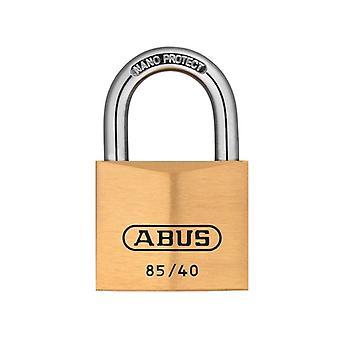 ABUS 85/40mm ορείχαλκο λουκέτο με κλειδί όσο 709 ABUKA02456