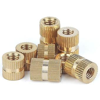 Brass Insert Nut, Injection Molding Knurled Thread Inserts Nuts
