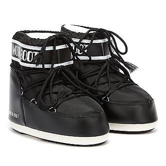 Moon Boot Classic Icon Low 2 Womens Black Boots