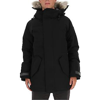 Canada Goose 3408mb61 Men's Black Nylon Down Jacket