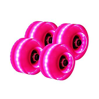 Double-row Skating Roller Skates, Transparent Flashing, Universal Lighting