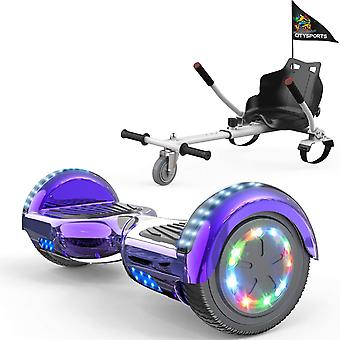 CITYSPORTS classical purple  Hoverboard Segway with Adjustable Hoverkart