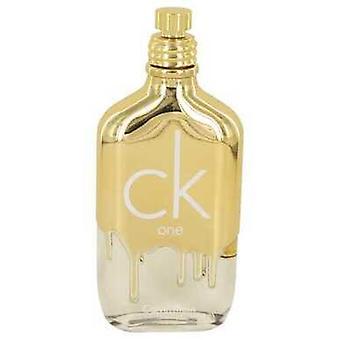 Ck الذهب واحد من قبل كالفن كلاين أو دو Toilette رذاذ (اختبار للجنسين) 3.4 أوقية (نساء) V728-534778