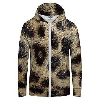 M. GUGU & Miss GO Leopard Spots Hoodie Kangaroo Zip Up