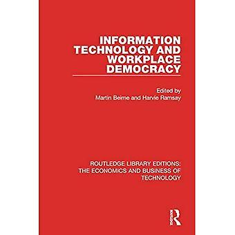 Informatietechnologie en werkplekdemocratie (Routledge Library Editions: The Economics and Business of Technology)