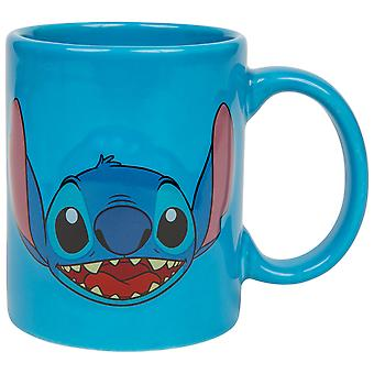 Lilo and Stitch Disney Character Stitch Full Face Relief 11oz Mug