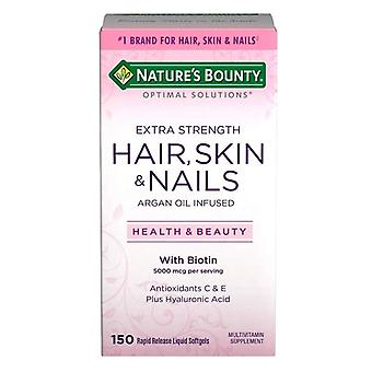 Nature's bounty extra strength hair skin and nails, softgels, 150 ea