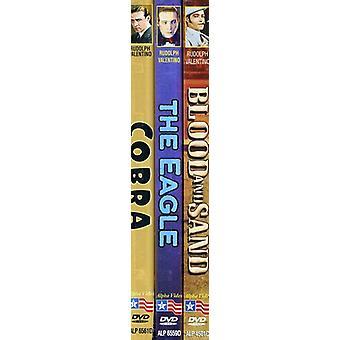Bloed & Sand (1922) / Eagle (1925) / Cobra (1925) [DVD] USA importeren
