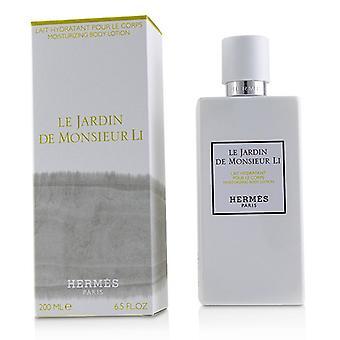 Hermes Le Jardin De Monsieur Li hydratant corps Lotion 200ml/6. 7 oz