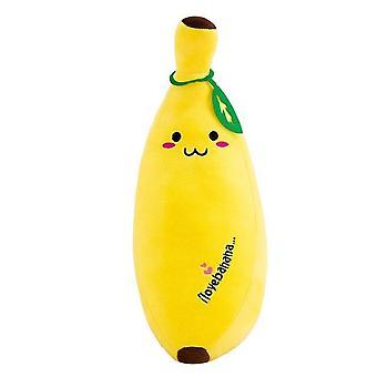 Cartoon Banana Plyšové mäkké vankúš pohovka vankúš