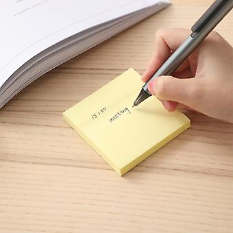 Sheets Self Adhesive Memo Pad Yellow Color Post It Labels School & Office