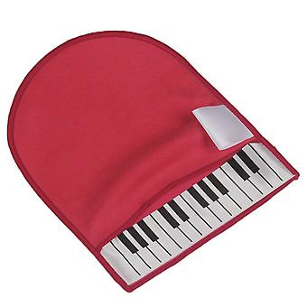 Piano Cleaning Glove Cleaning Cloth Glove for Piano Instrument Accessory Red