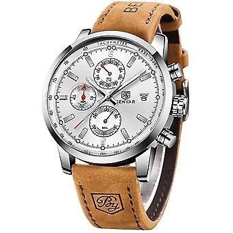 BY BENYAR Sport Casual Chronograph Waterproof Analogue Quartz Men's Wristwatch