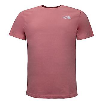 Le North Face Mens XRX T-Shirt Graphic Logo Top Pink NF0A4M6QQF21