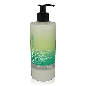 Redken Genius Wash Cleansing Conditioner 500ml - For Medium Hair
